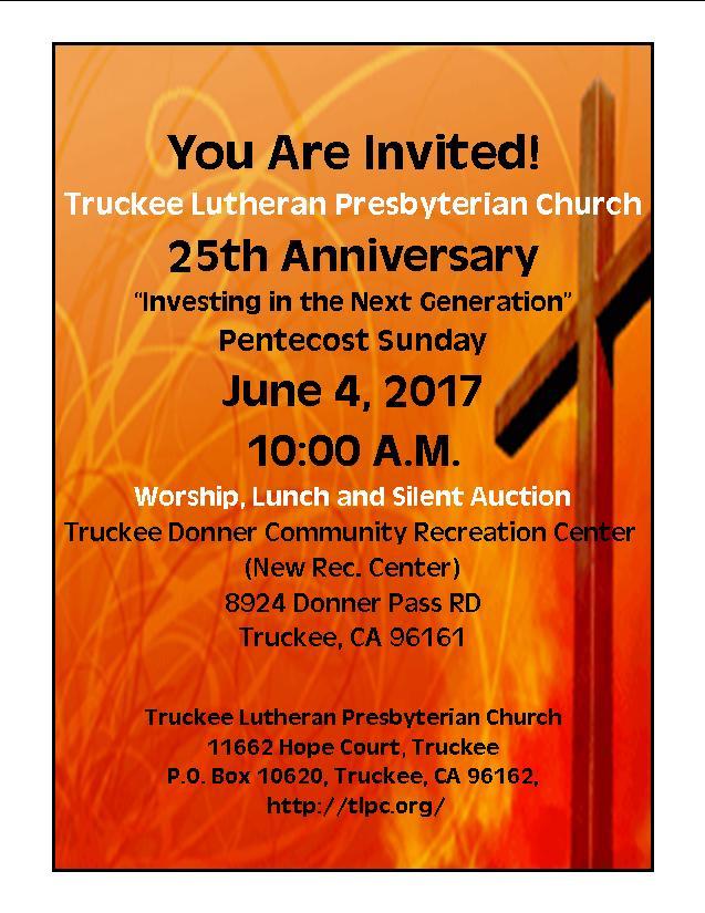 2017 Pentecost Invited