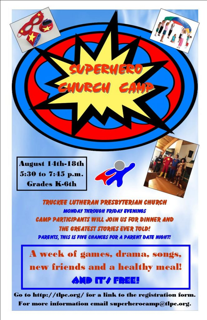 Super Heros Camp 4